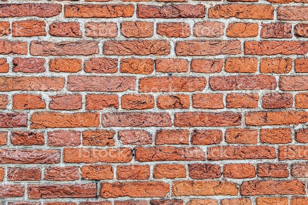 Old, brick wall texture stock photo