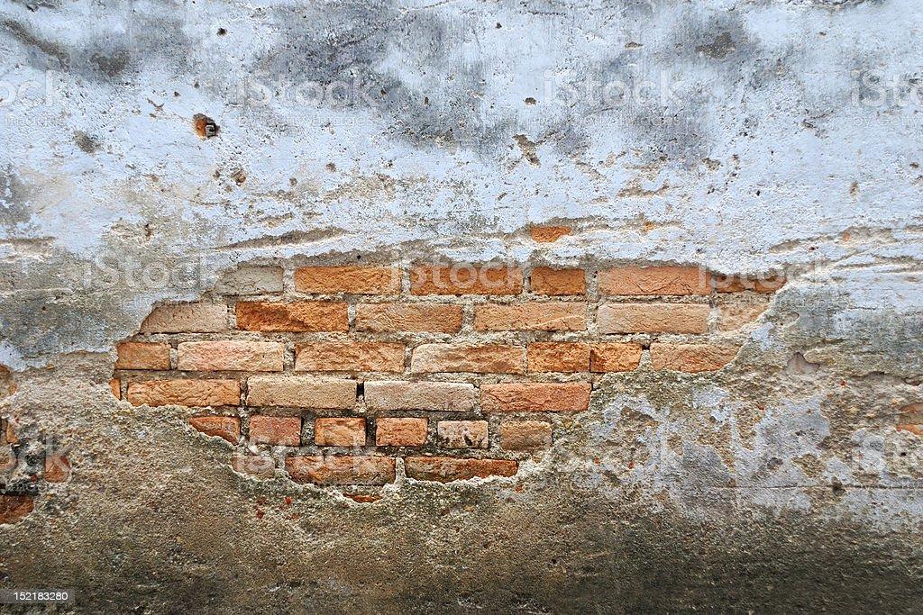 Old brick walls royalty-free stock photo