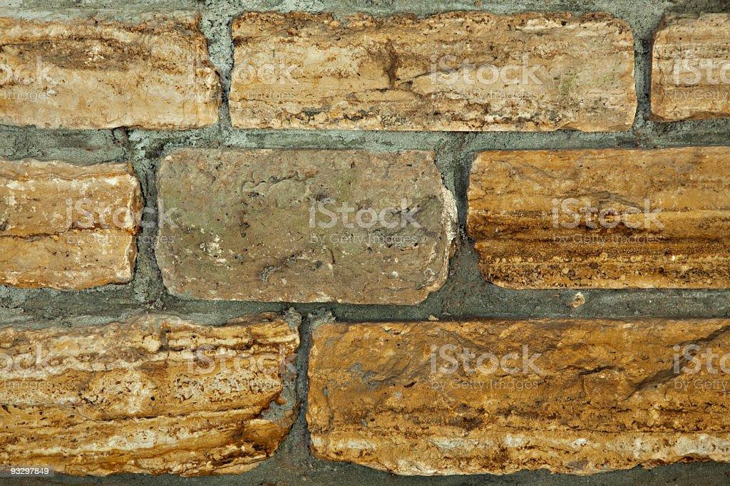old bricks royalty-free stock photo