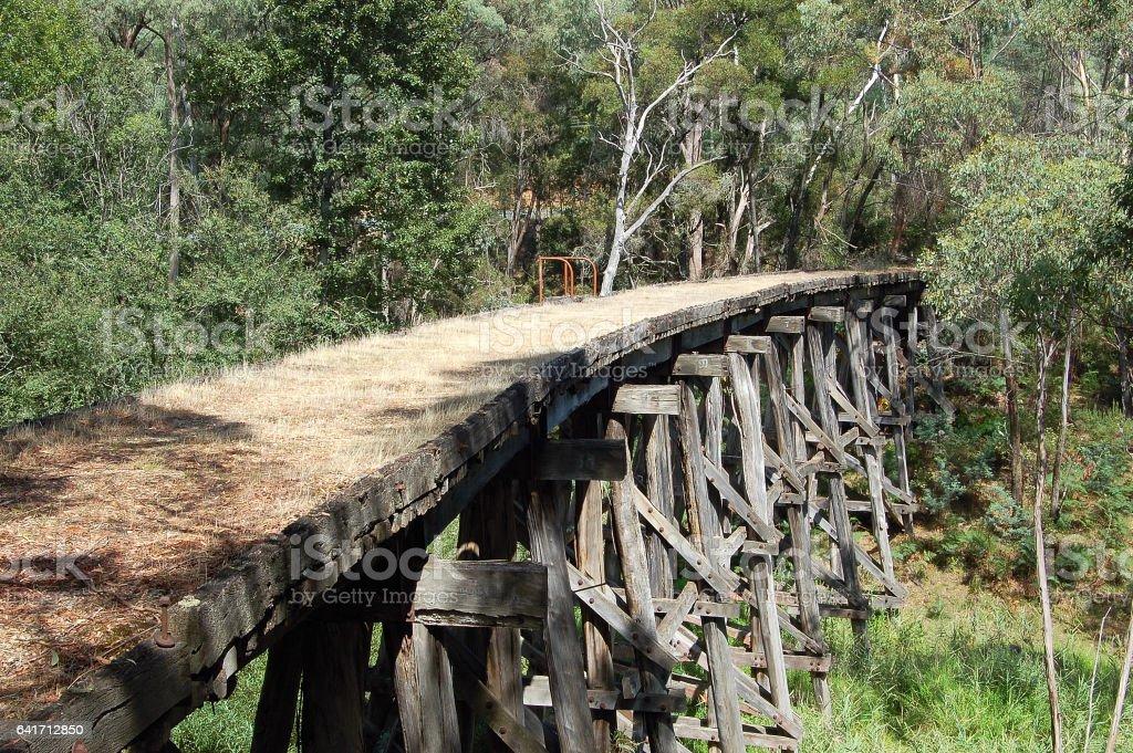 Old Bridge - Koetong stock photo