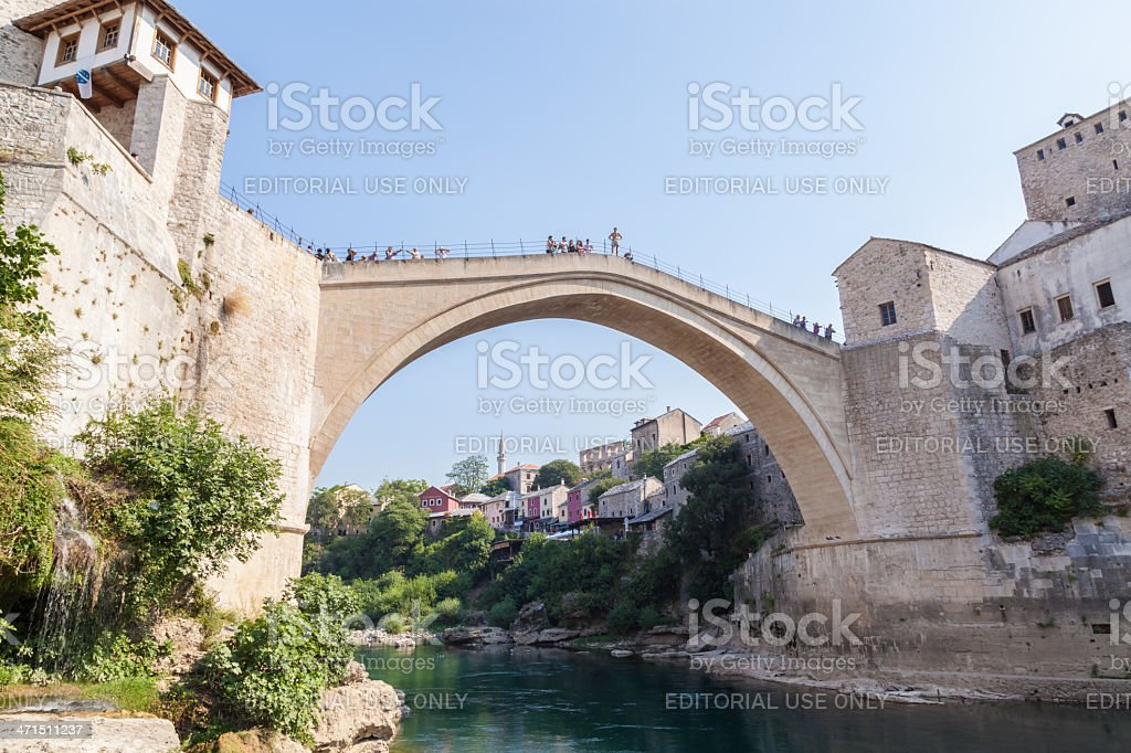 Old bridge, Mostar royalty-free stock photo