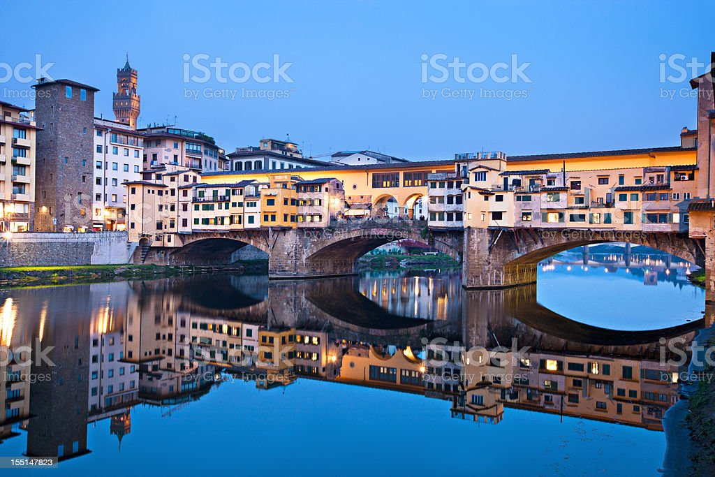 Ponte Vecchio stock photo