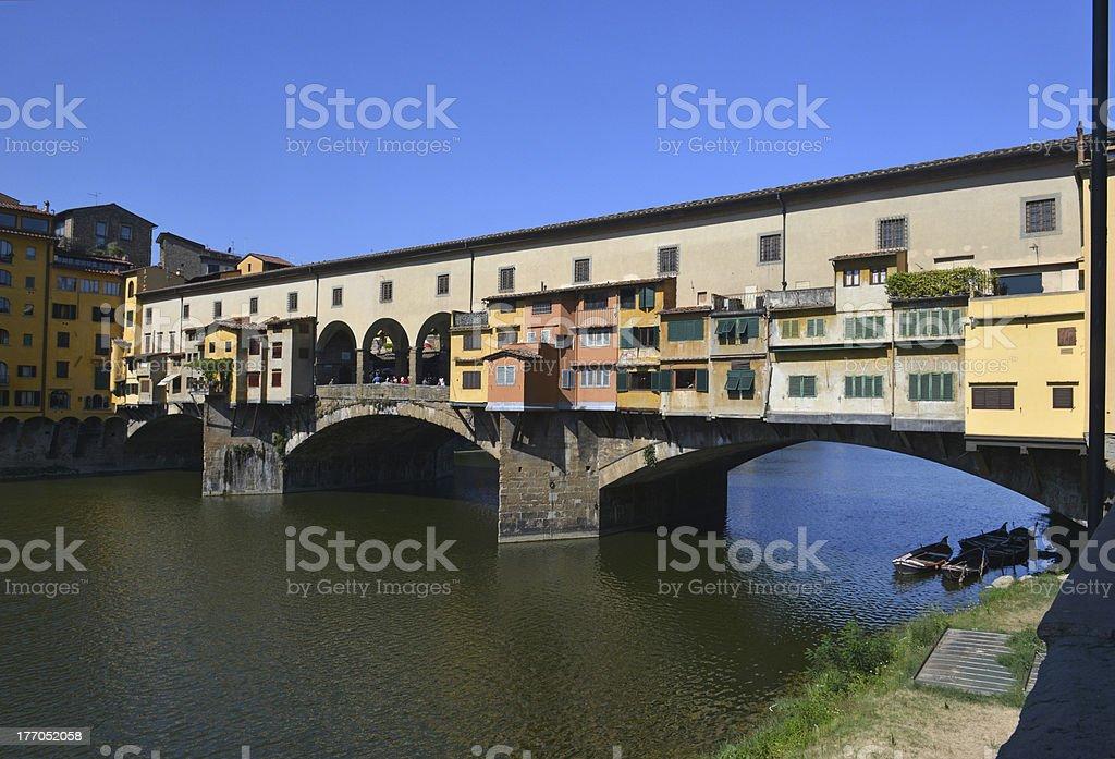 Ponte Vecchio royalty-free stock photo