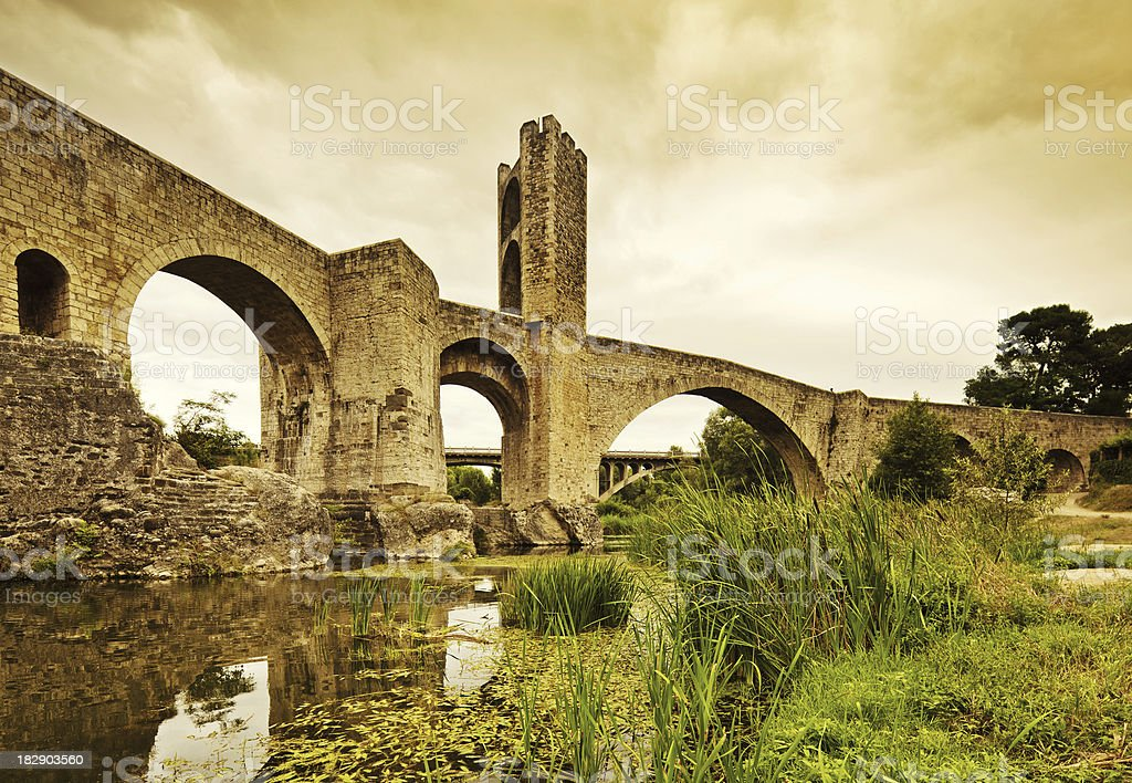 old  Bridge stock photo