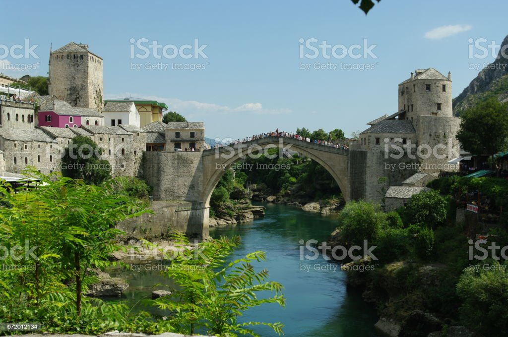 Old Bridge (Stari Most) stock photo