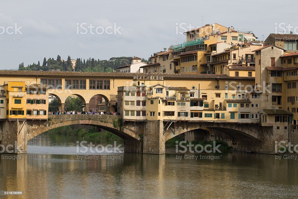 Old bridge,Florence, Italy stock photo