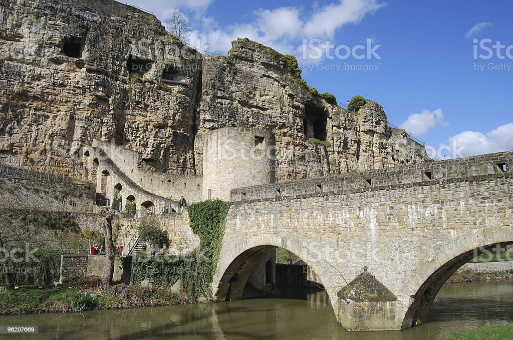 Old bridle in Luxembourg stock photo