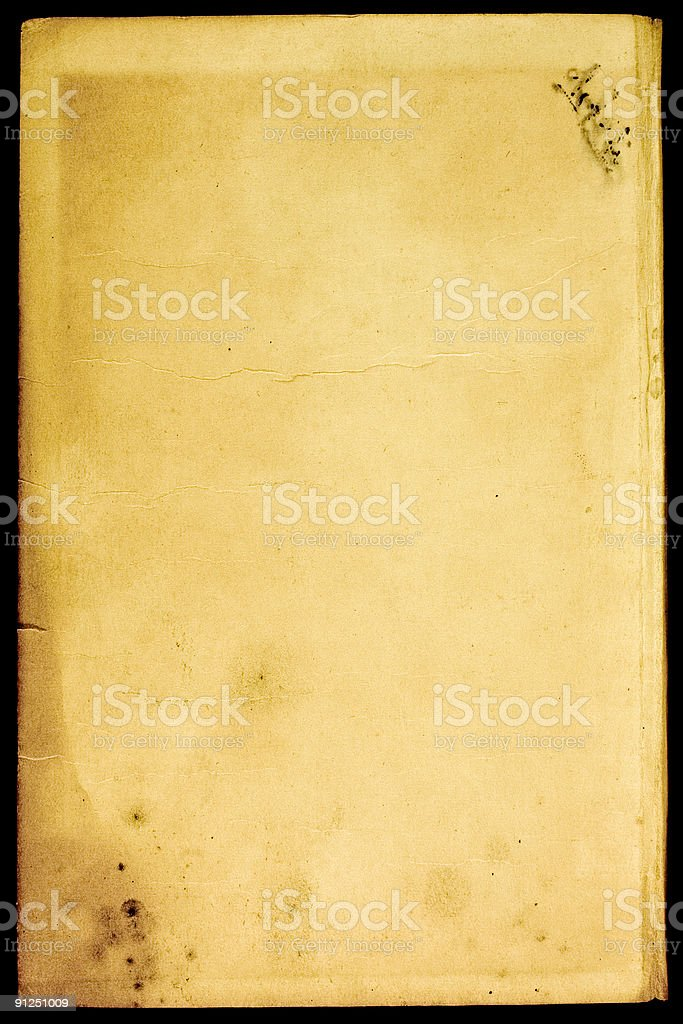 Old bright textured paper royalty-free stock photo