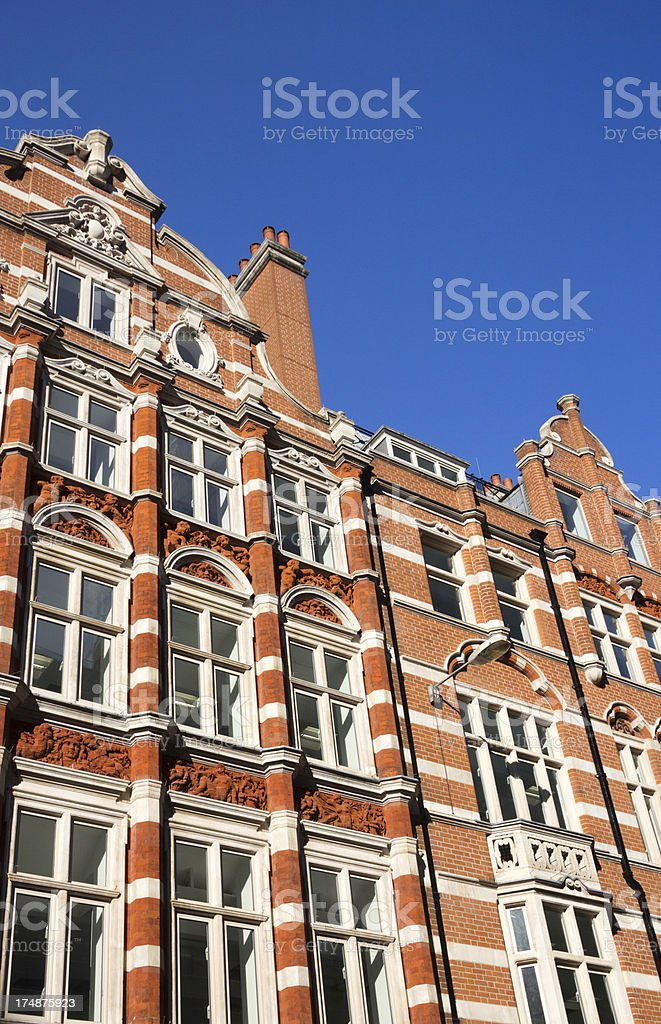 Old Broad Street in London, England royalty-free stock photo