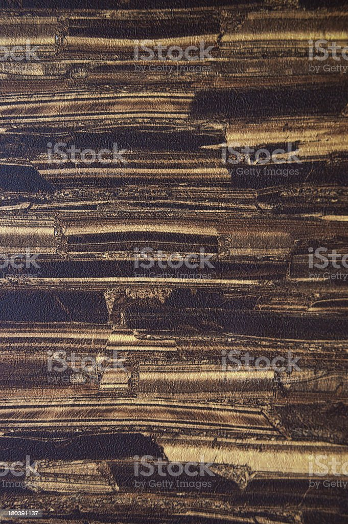 old brown and yellow color tone wood wall royalty-free stock photo