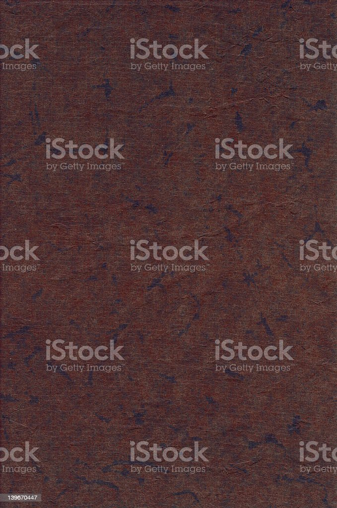 old brown black water stained book cover royalty-free stock photo