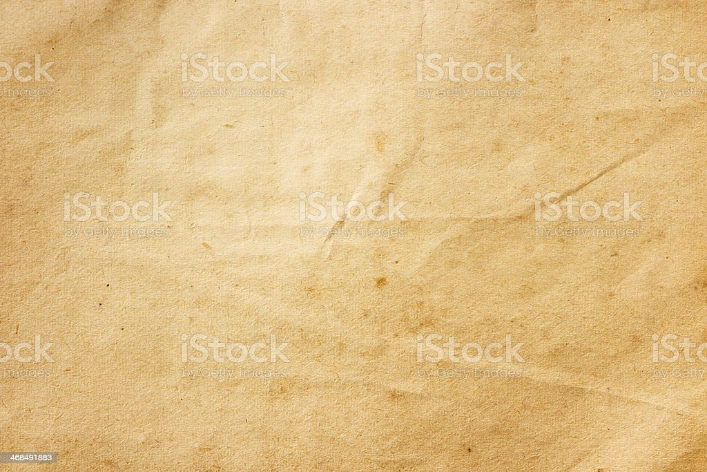 old brown color paper stock photo