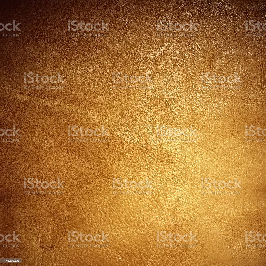 Old Brown Leather Background stock photo