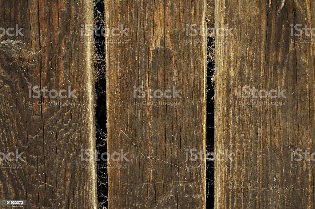 Stary brązowy drewniany filarach zbiór zdjęć royalty-free