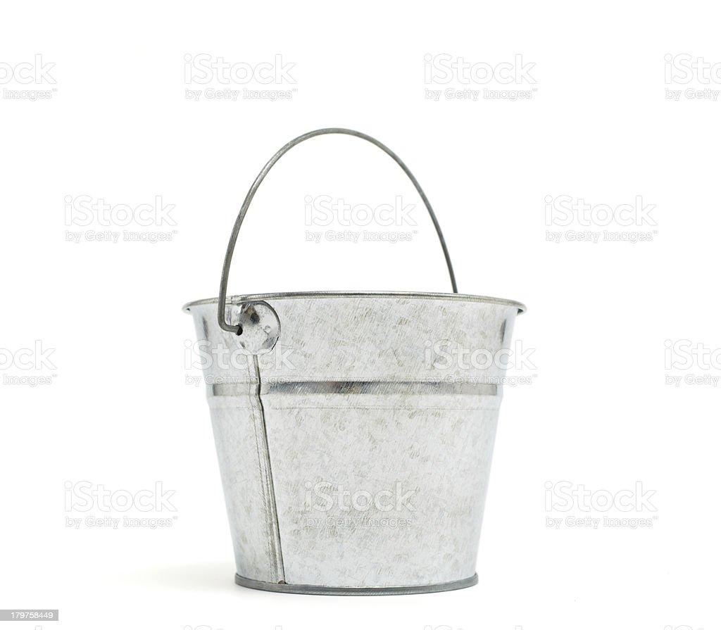 old Bucket royalty-free stock photo