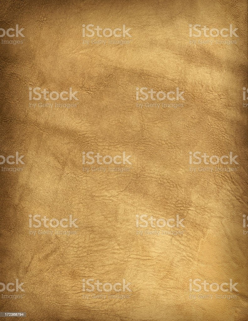 Old Buckskin Leather Background stock photo