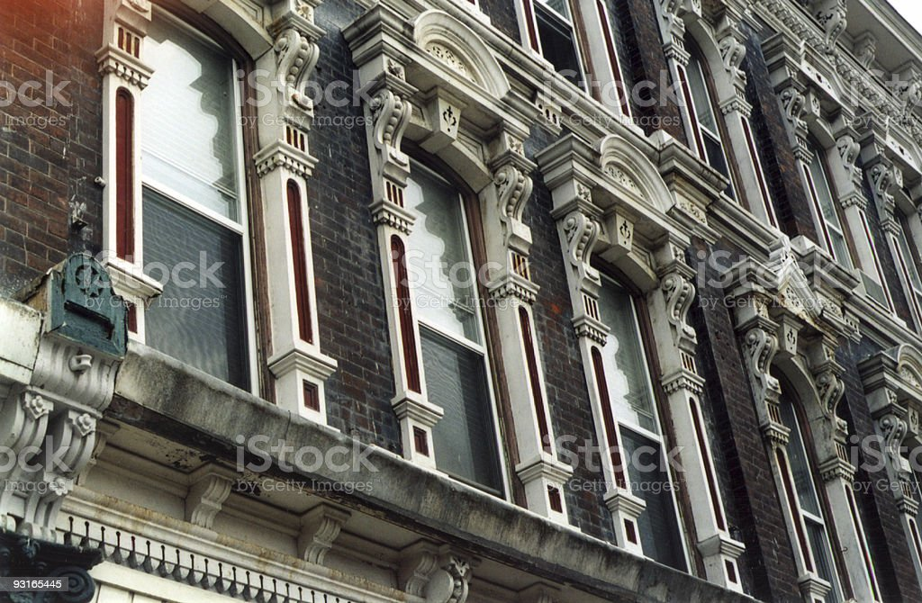 Old Building Detail 1 stock photo