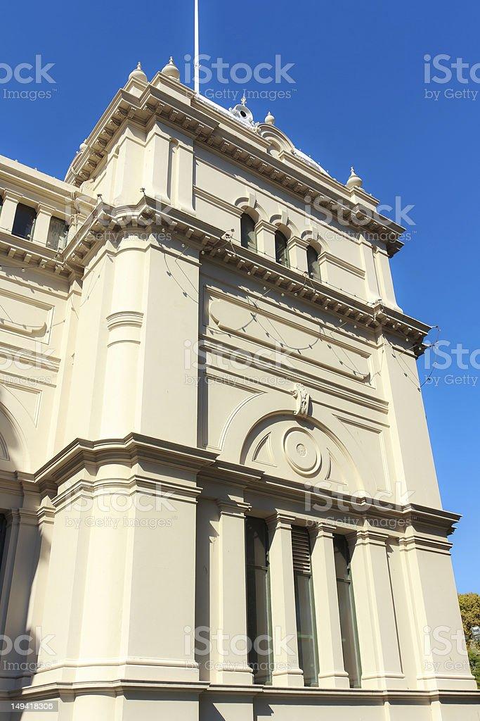 Old building facade royalty-free stock photo