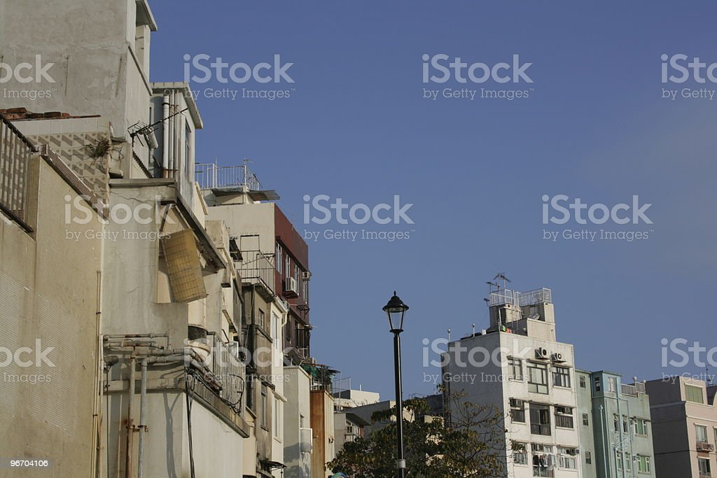 Old Building Group royalty-free stock photo