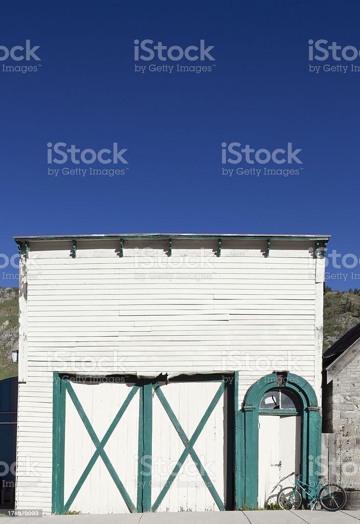 Old Building in Silverton, Colorado royalty-free stock photo