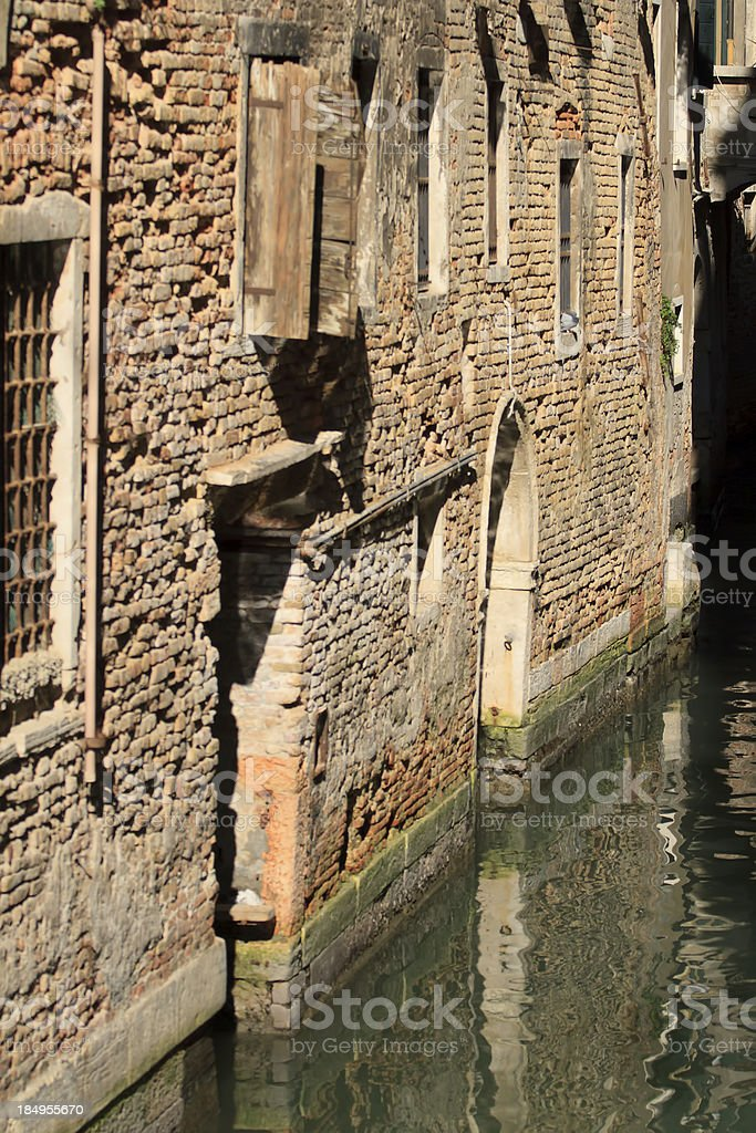 Old building in Venice royalty-free stock photo