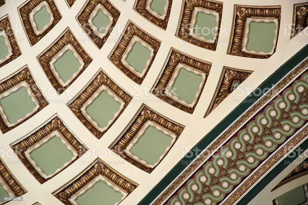 Old building interiors abstract background royalty-free stock photo