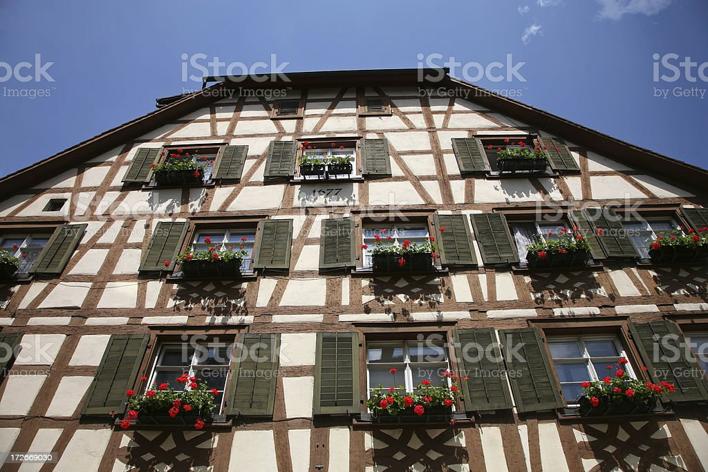 old building of Germany stock photo