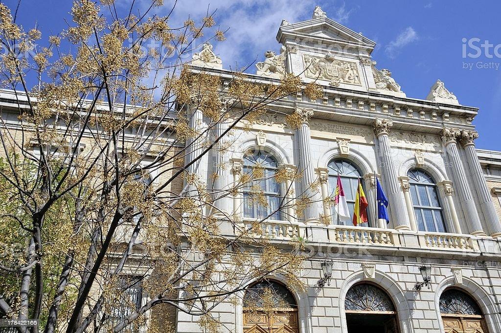 Old building of Toledo, Spain stock photo