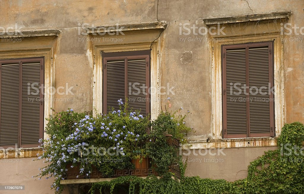 Old building surface royalty-free stock photo