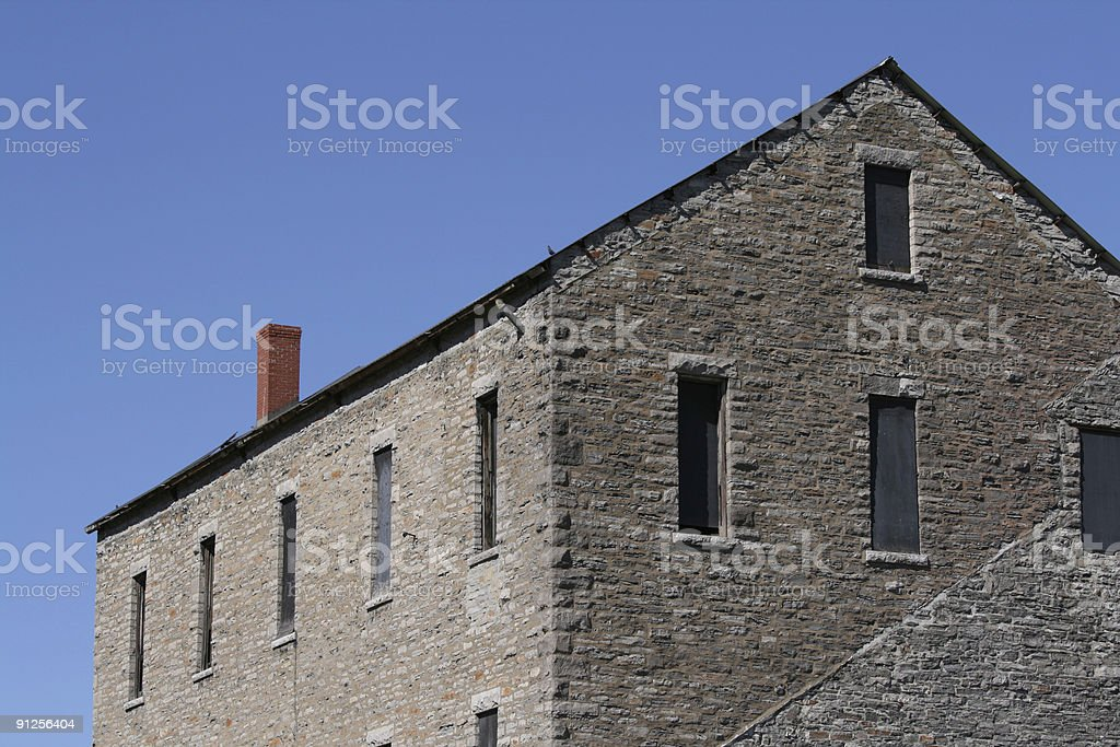 Old Building Victoria Island royalty-free stock photo
