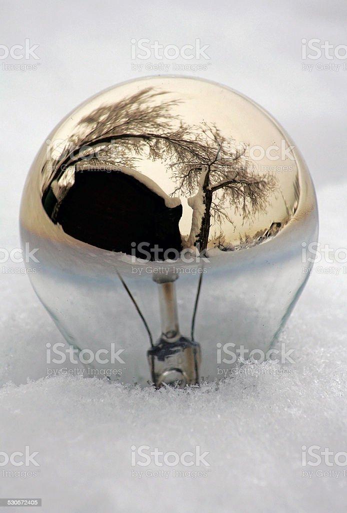 old bulbs stock photo