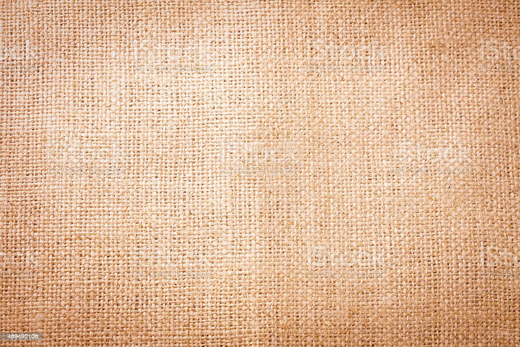 Old burlap. Background in vintage style stock photo