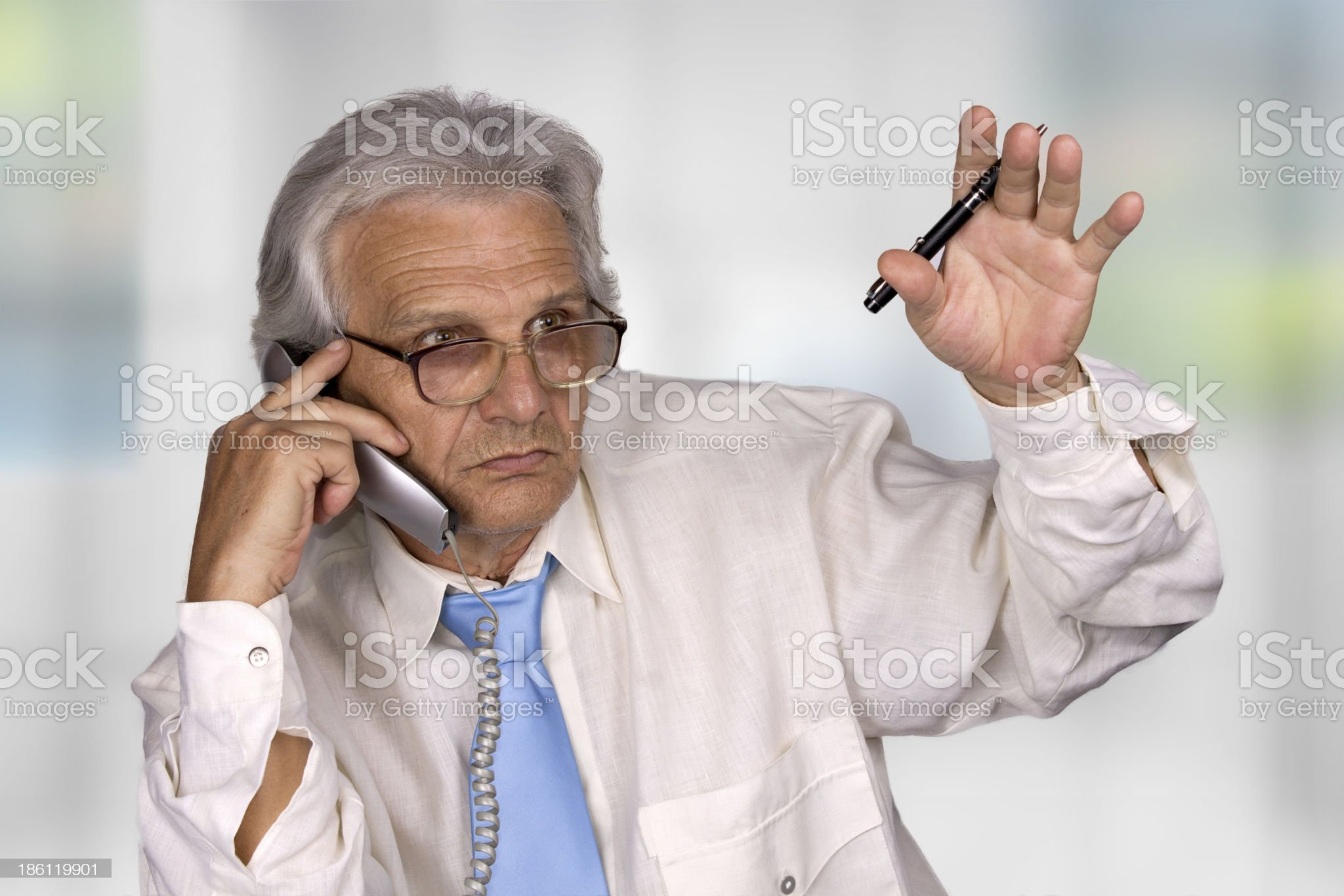 old businessman royalty-free stock photo