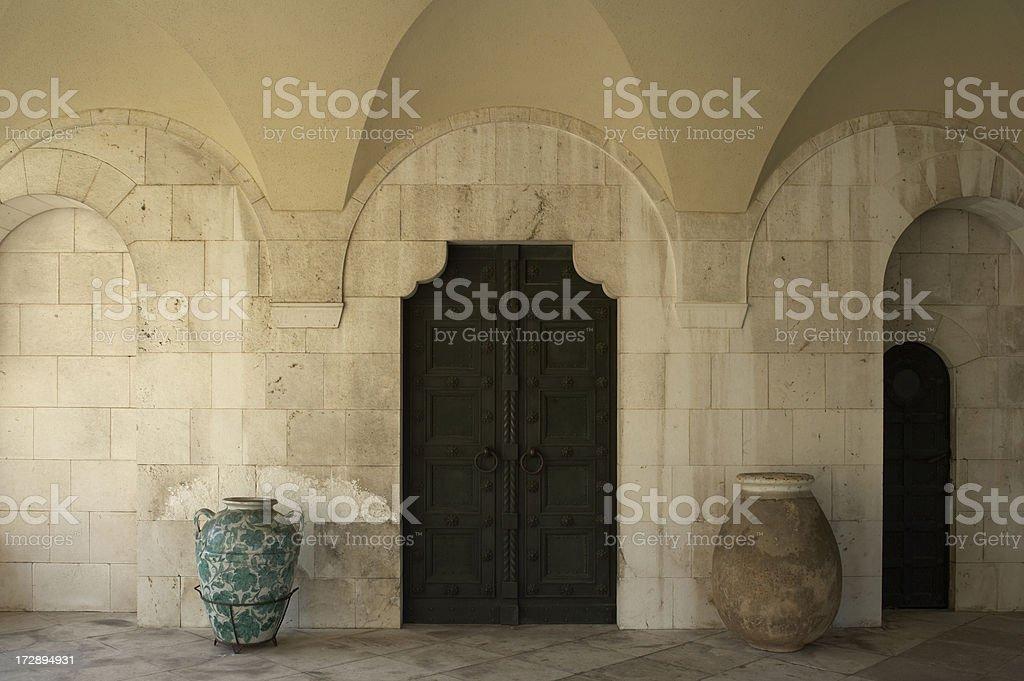 Old Byzantine Architecture royalty-free stock photo