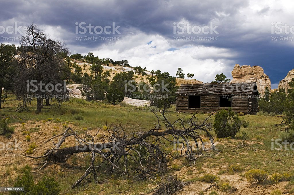 Old Cabin stock photo