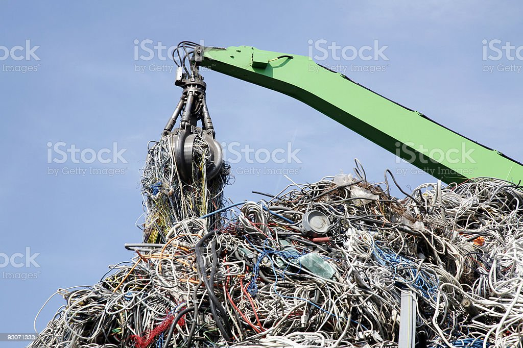 Old cable royalty-free stock photo