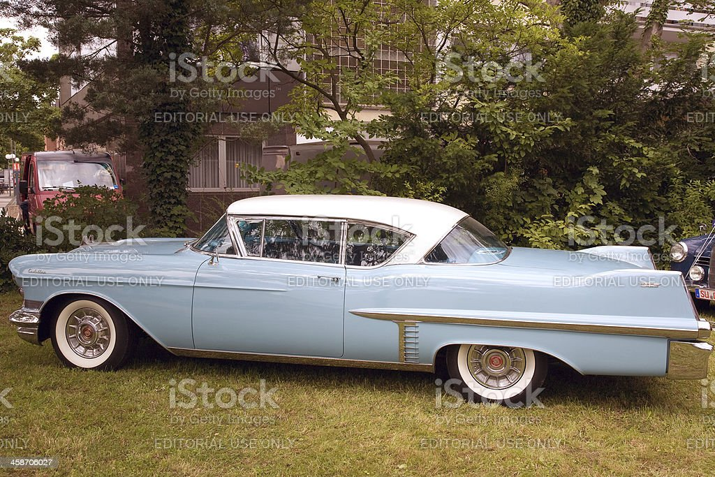 Old Cadillac Series 75  - american classic car stock photo
