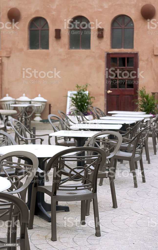 Old cafe stock photo