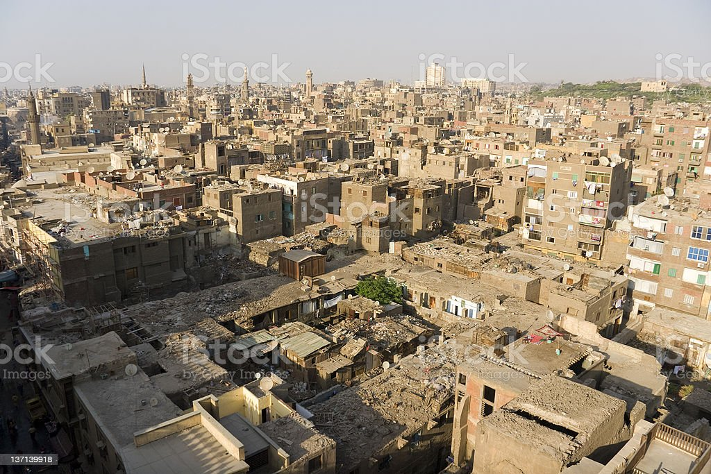 Old Cairo royalty-free stock photo