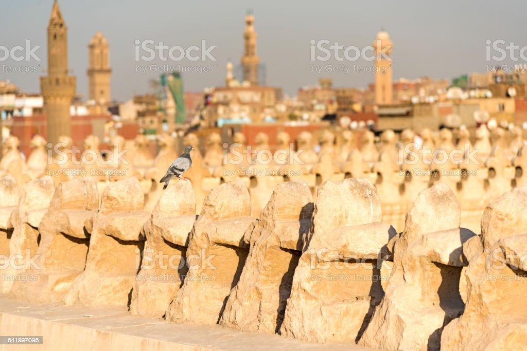 Old Cairo stock photo