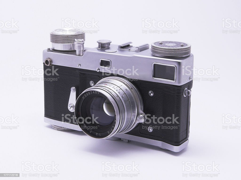 Old Camera 2 royalty-free stock photo