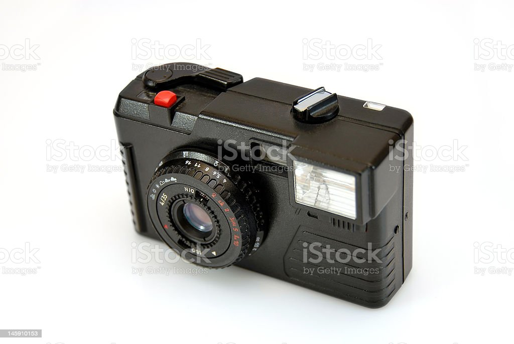 old camera from the museum royalty-free stock photo