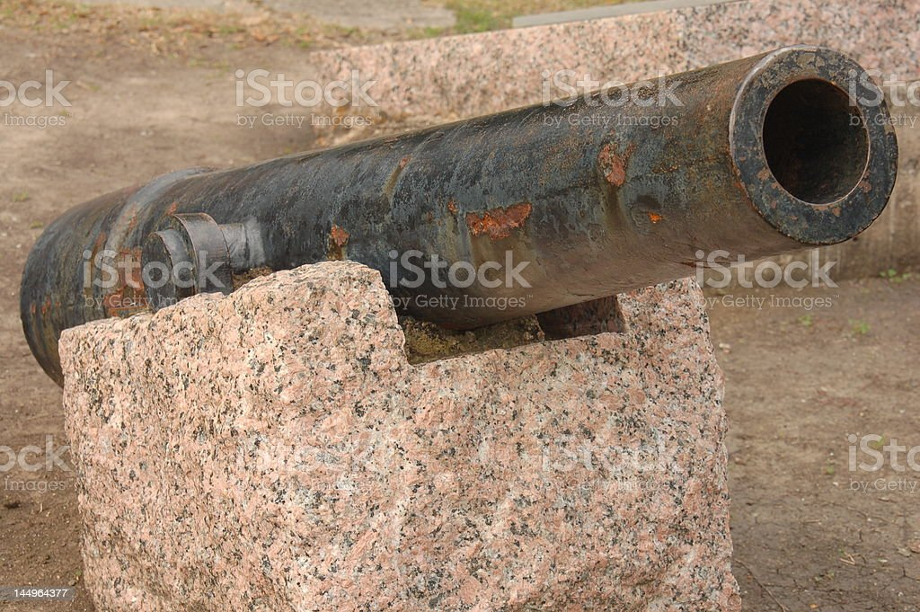 Old Canon stock photo