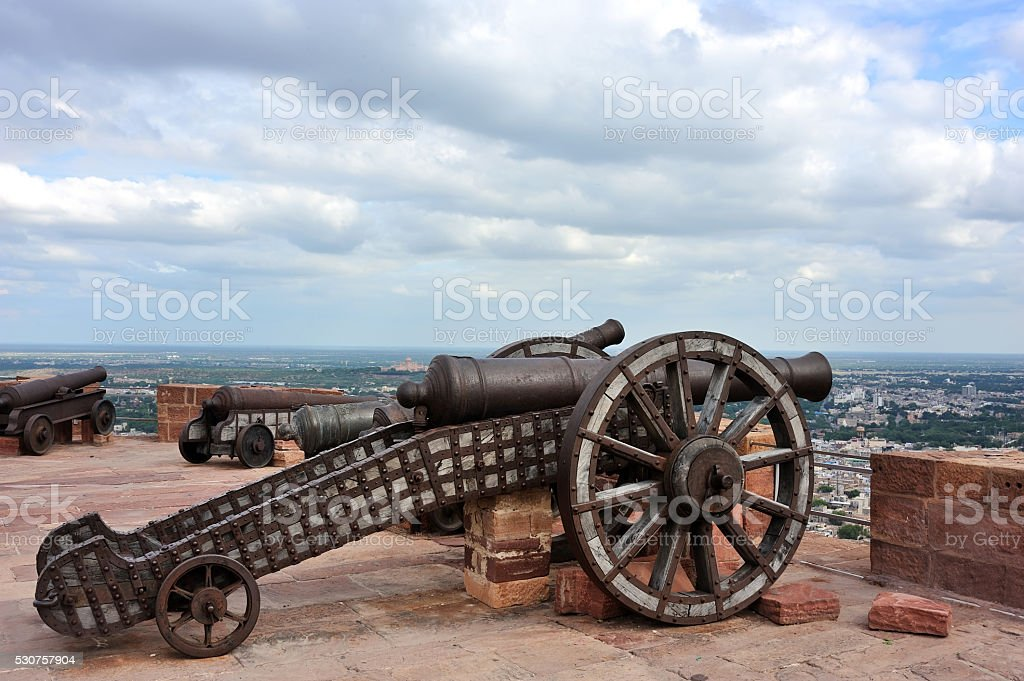 old canons stock photo