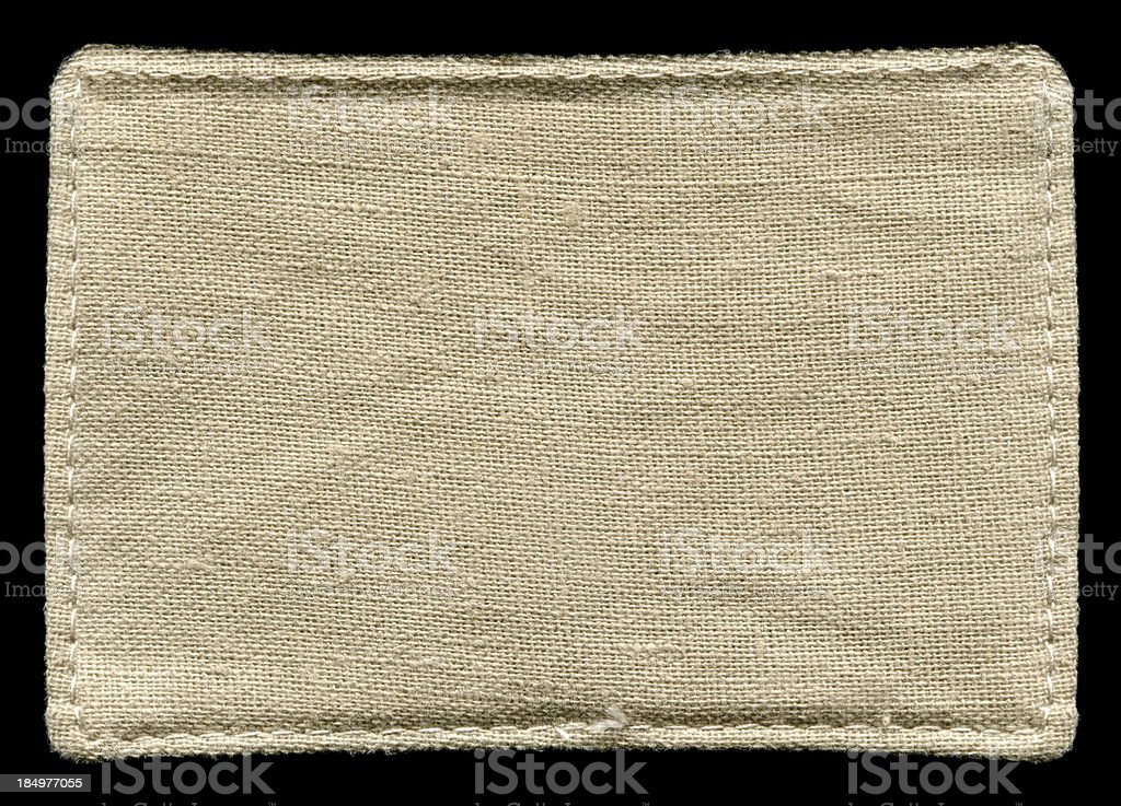 Old Canvas background textured isolated stock photo
