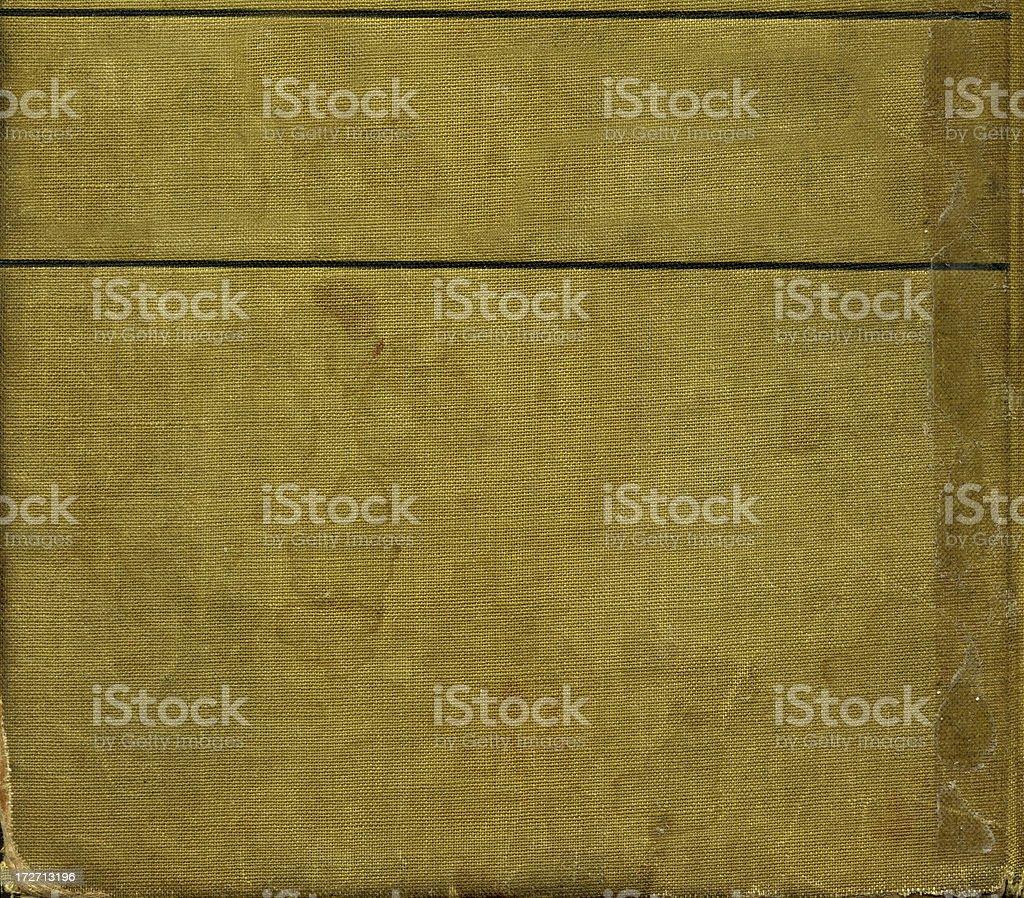Alte canvas-Buchumschläge Lizenzfreies stock-foto