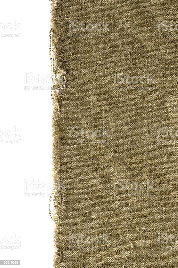 old canvas edge royalty-free stock photo