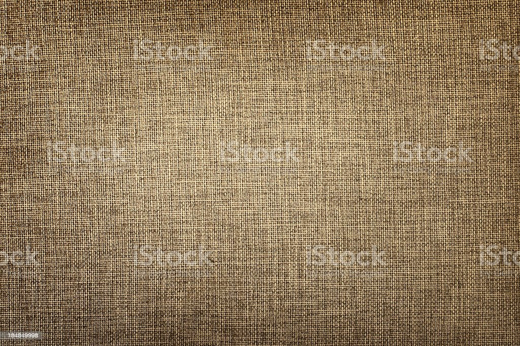 Old canvas fabric stock photo