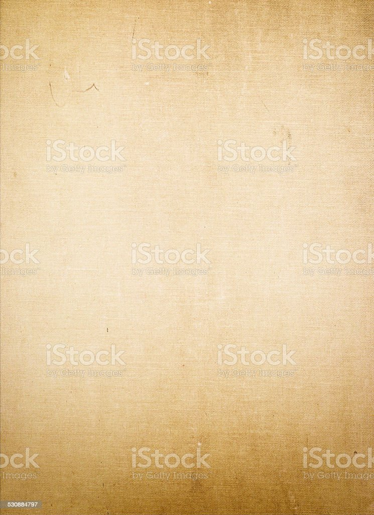 Old canvas texture. stock photo
