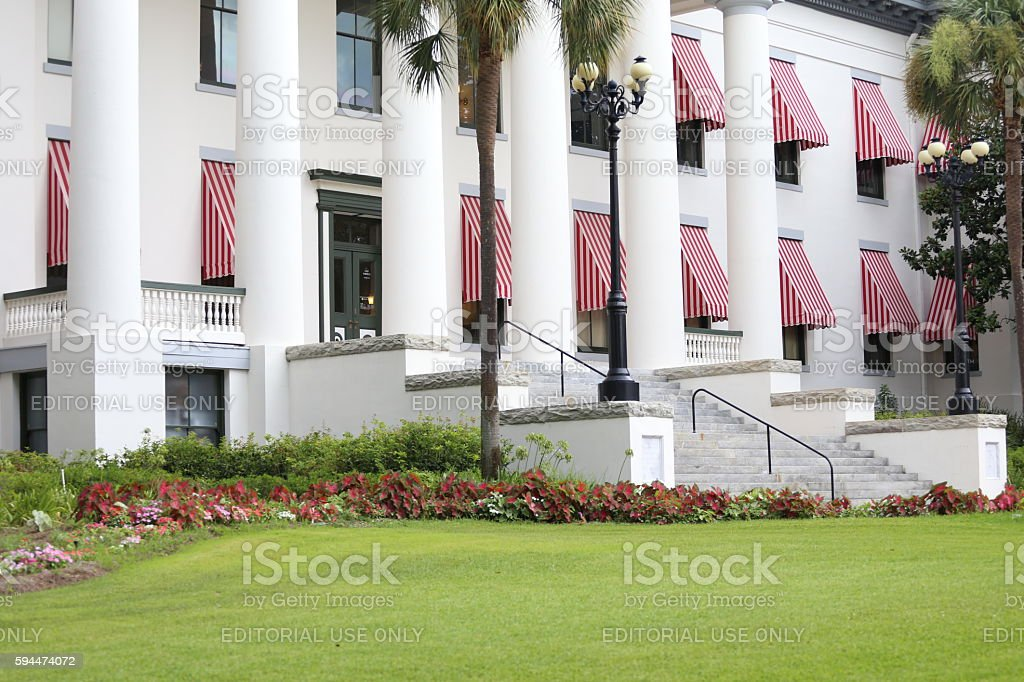 Old Capitol Museum stock photo